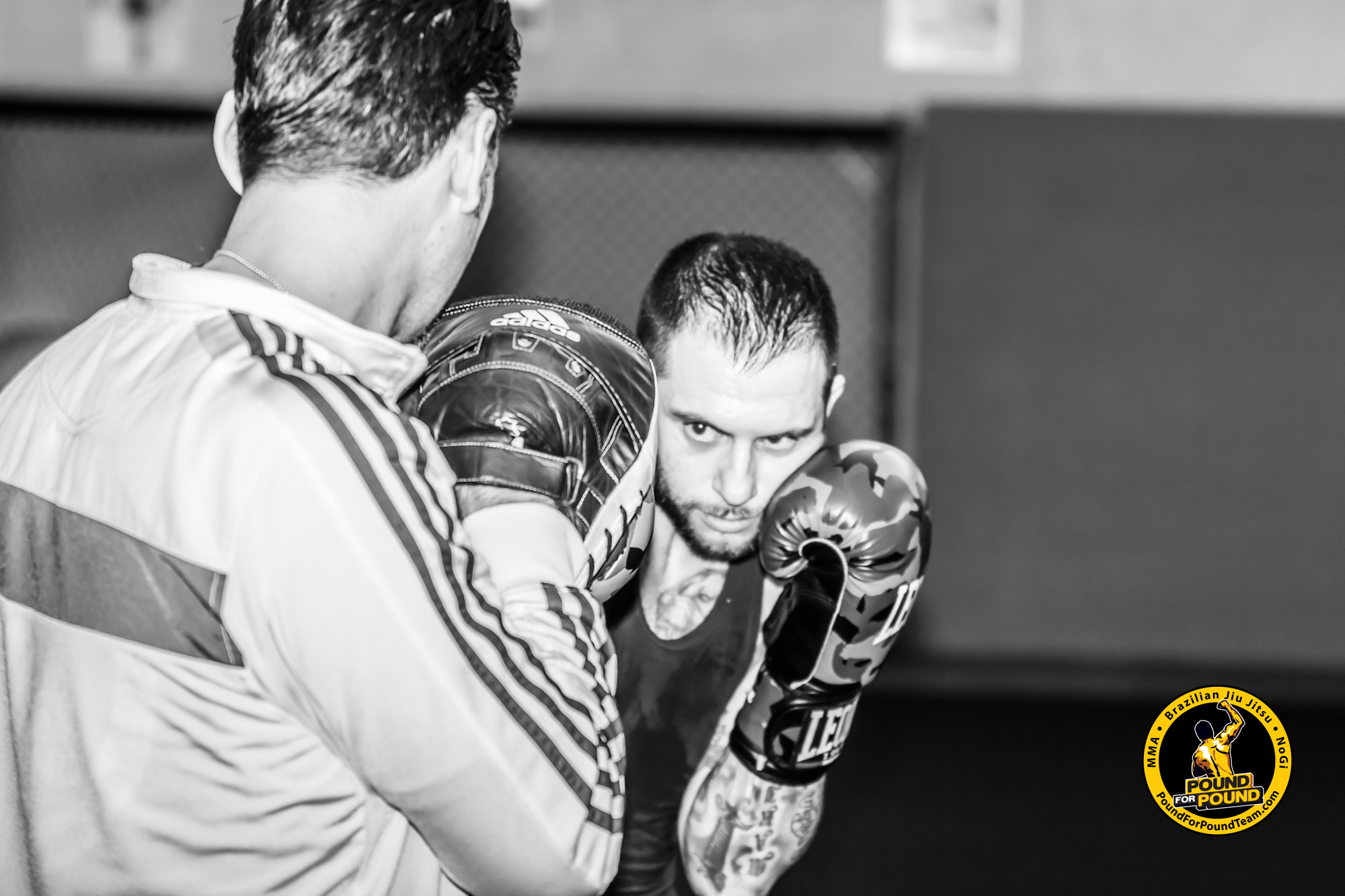 Boxen im Pound for Pound Gym