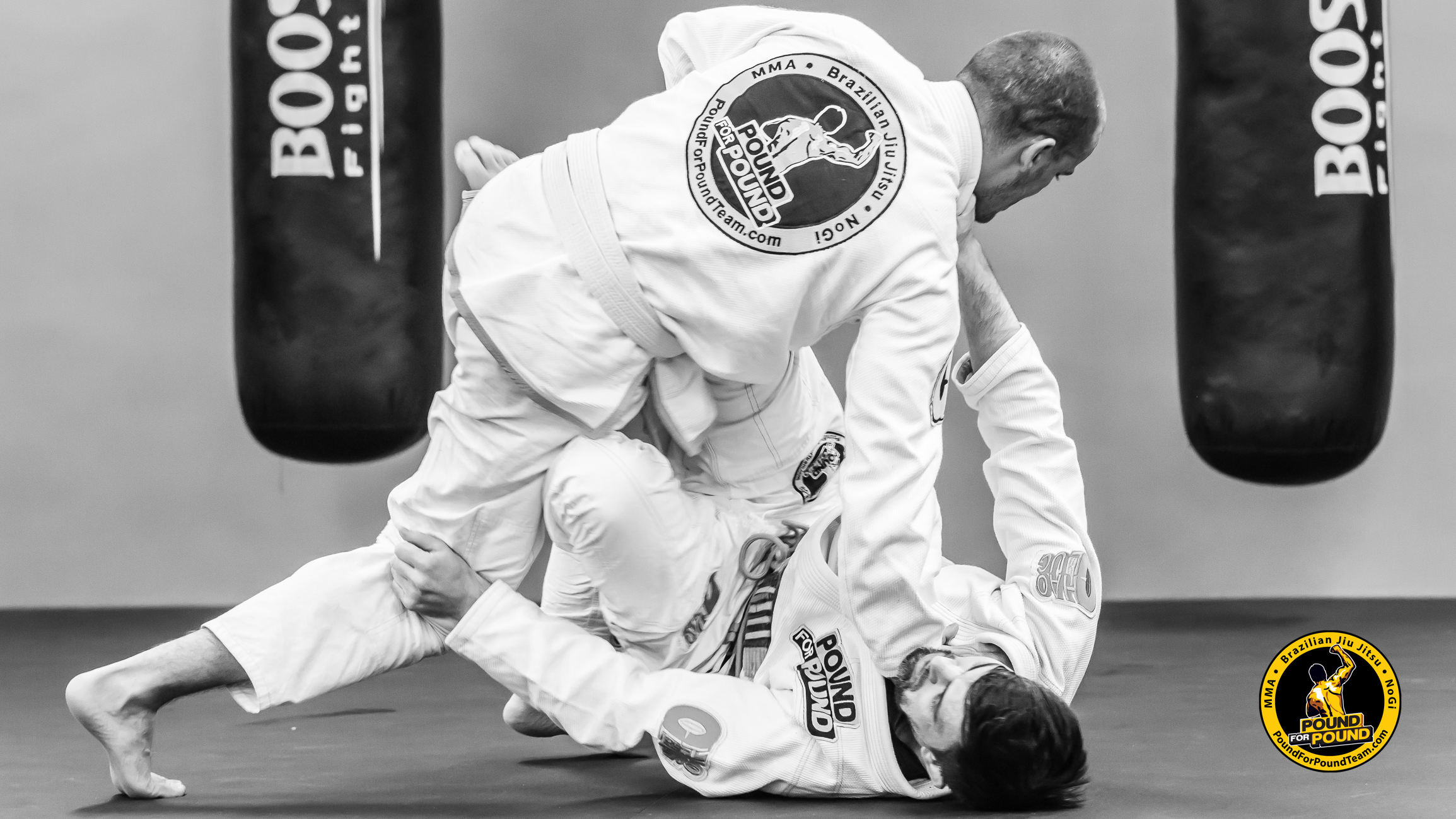 Brazilian Jiu Jitsu im Pound for Pound Gym
