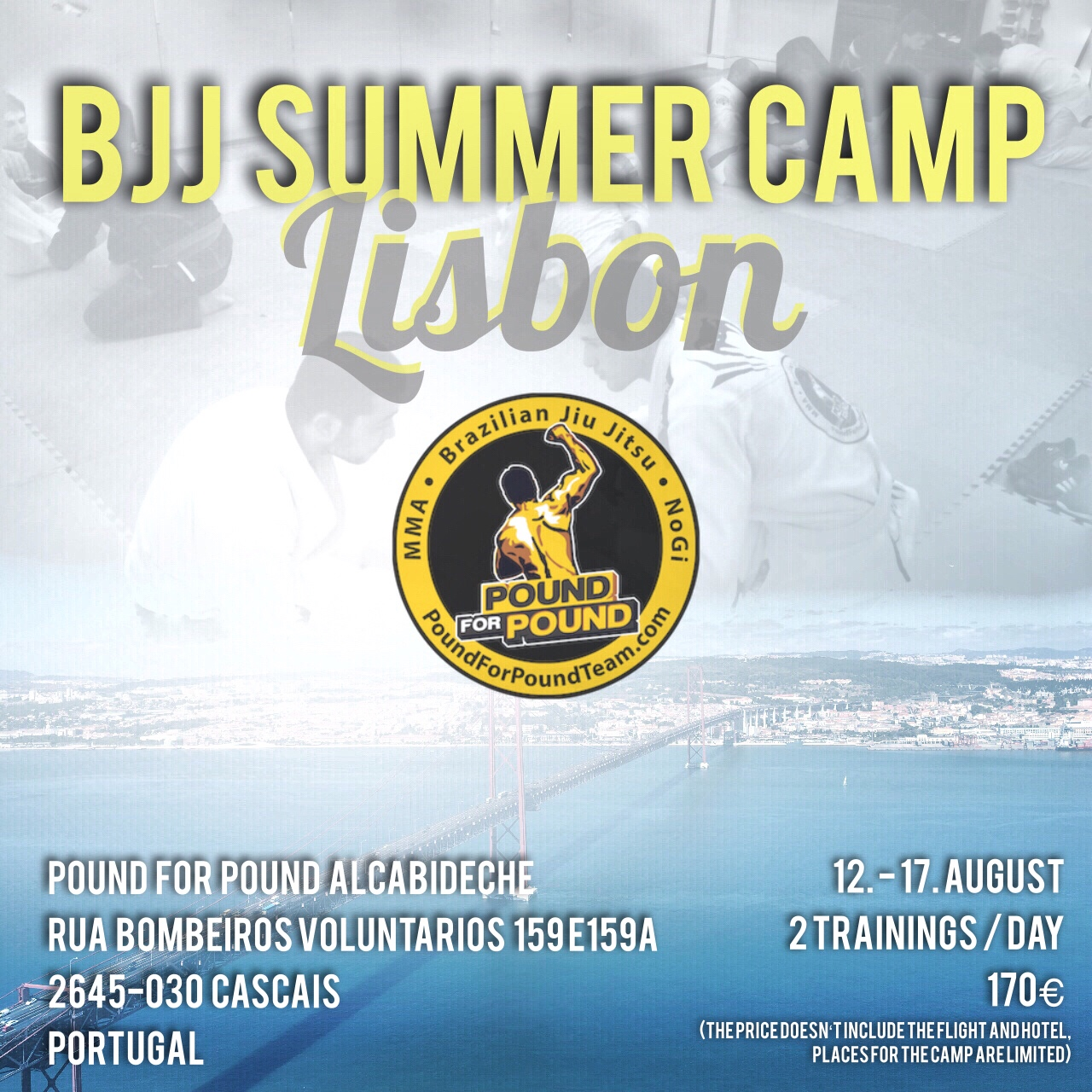 BJJ Summer Camp 2019 Lissabon